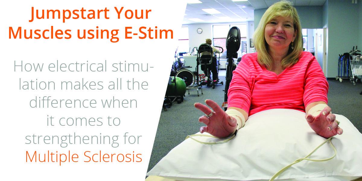 Jumpstart your strength building using E-STIM