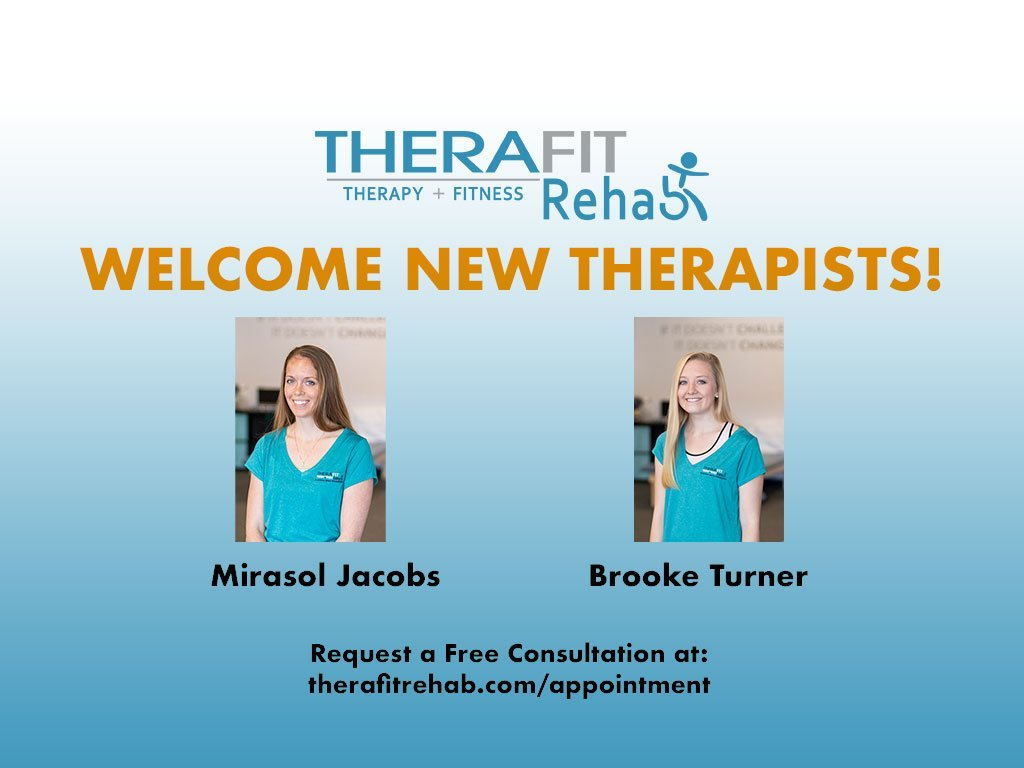 Therafit Rehab Announces New Staff at Westminster Clinic